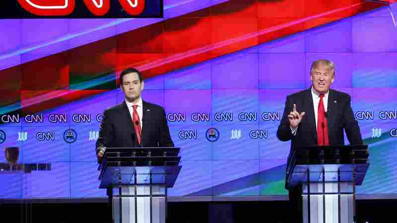 The 12th Republican Debate In 100 Words (And 4 Videos)