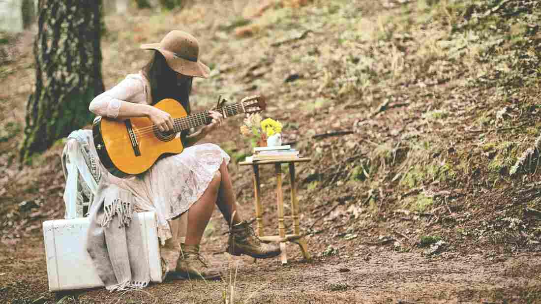 "Musician Diana Gameros, in a scene from her video for ""Bajo El Sol (De Tu Verdad)."""
