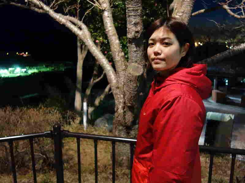 Earthquake survivor Natsumi Miyakawa, 20, is now training at Ishinomaki's Red Cross hospital to be a disaster nurse.