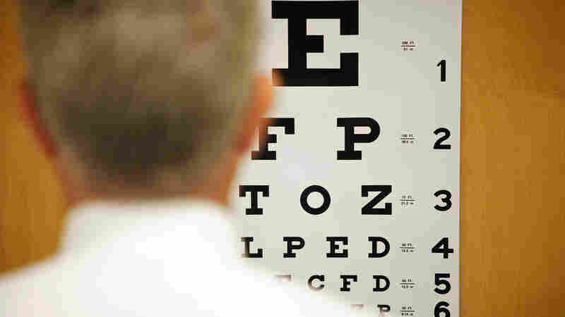 How much value is there for seniors in staring at the eye chart in the primary care doctor's office?