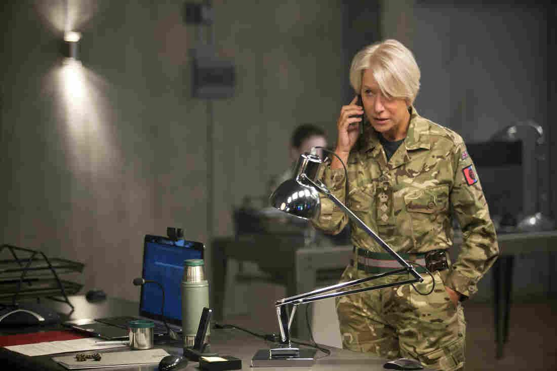Helen Mirren stars as Col. Katherine Powell in Gavin Hood's Eye in the Sky.