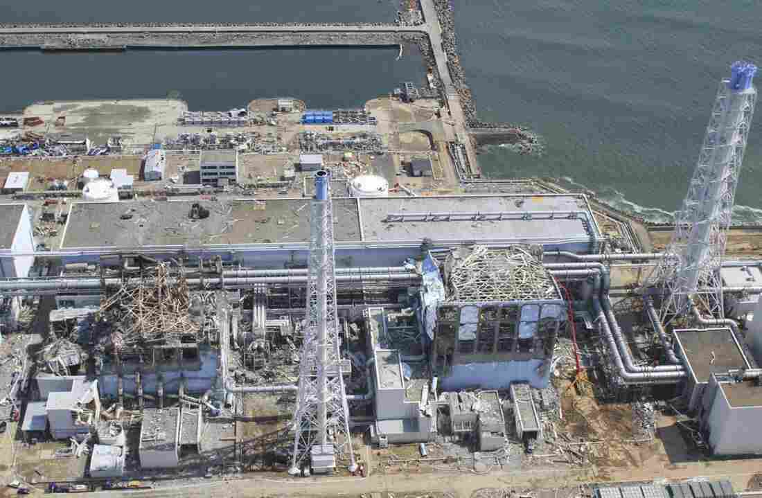 An aerial view of the Fukushima Dai-ichi nuclear power plant in March 2011. A magnitude-9 earthquake struck off Japan's north central coast on March 11, 2011, triggering a devastating tsunami.