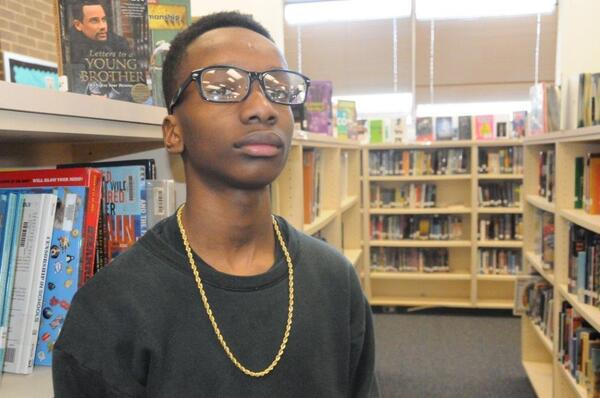 """""""I just feel as though it's real childish, and I don't think grown adults should be acting like us,"""" said Durham, N.C., eighth-grader Samori Reed-Bandele."""