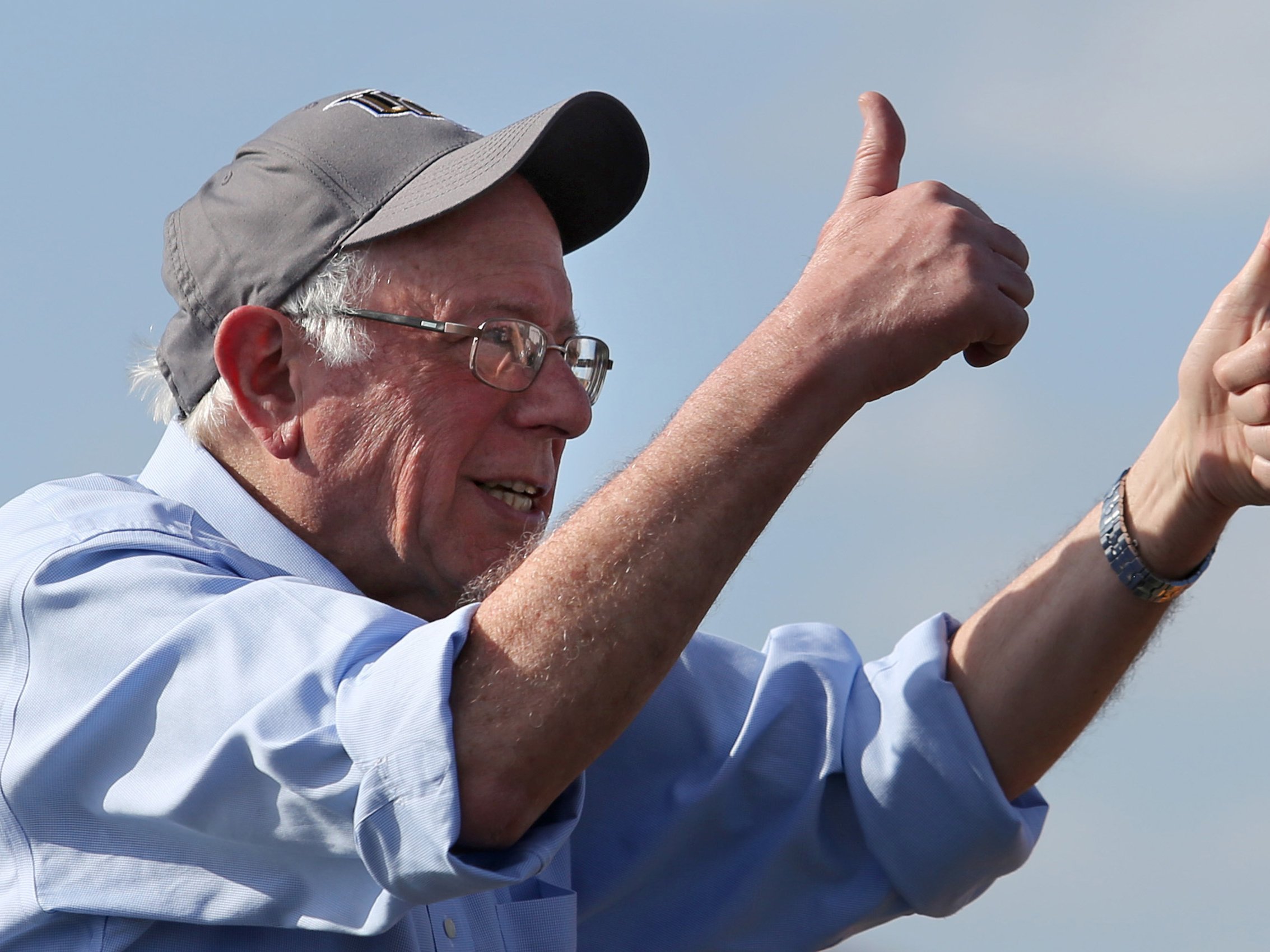 Bernie Sanders Says He's Beating Donald Trump. Is He Right?