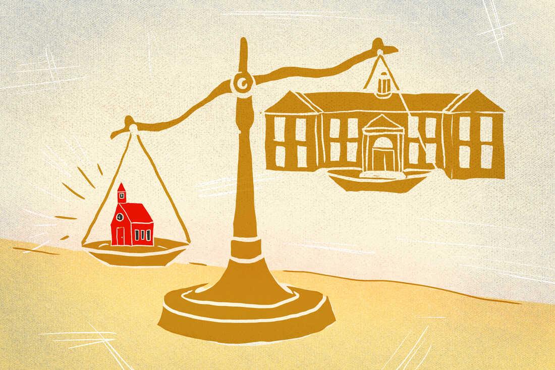 Schoolhouse versus statehouse