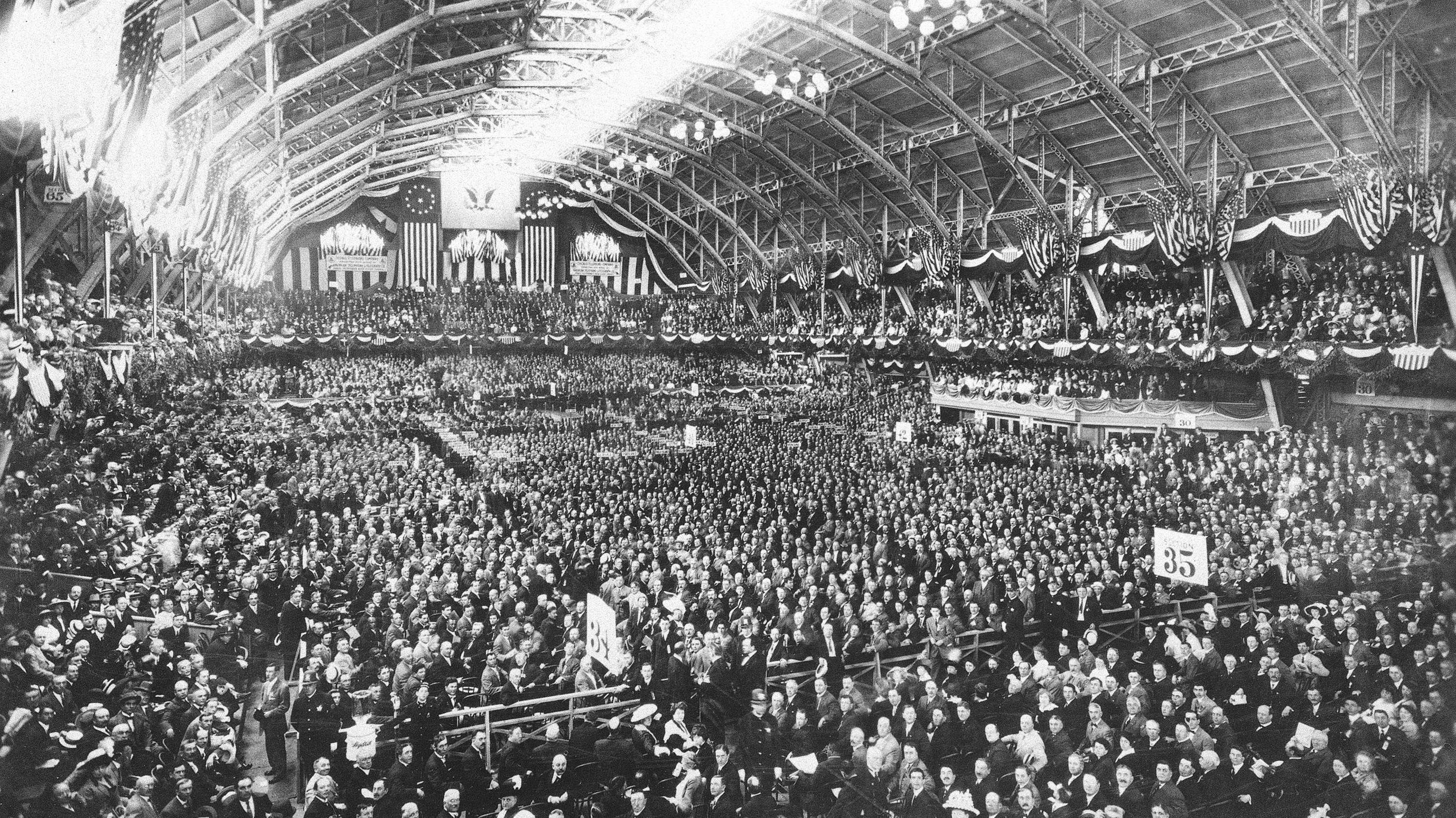 A Century Of GOP Intraparty Wars Sets Stage For Cleveland Convention