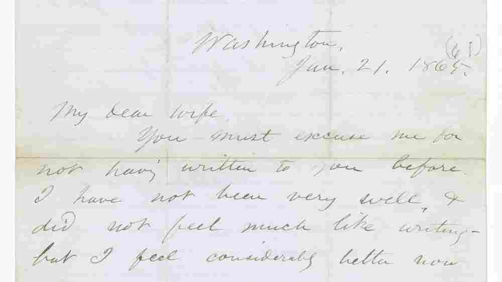 Walt Whitman's Letter For A Dying Soldier To His Wife Discovered