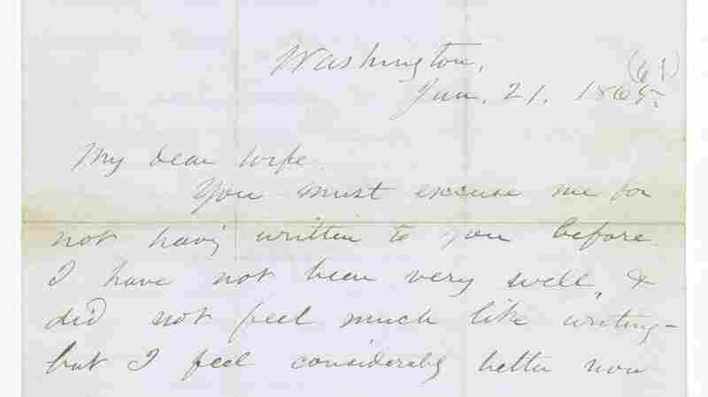 A letter Walt Whitman wrote on behalf of a soldier dated Jan. 21, 1865, was discovered recently.
