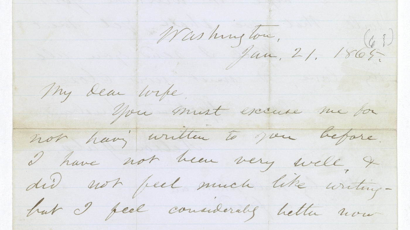 Walt whitmans letter for a dying soldier to his wife discovered npr aljukfo Image collections