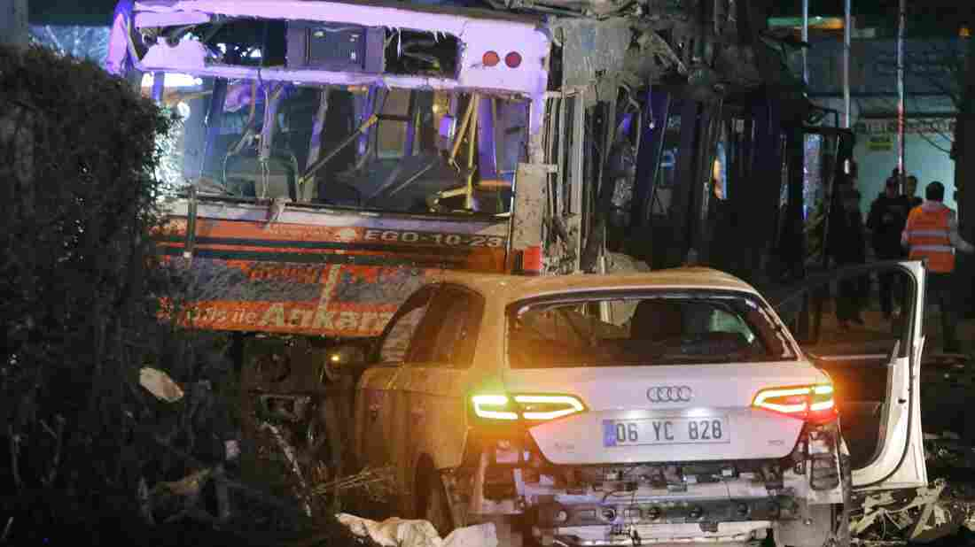 An explosion ripped through a busy square in central Ankara on Sunday, killing at least 27 people and wounding 75 more.