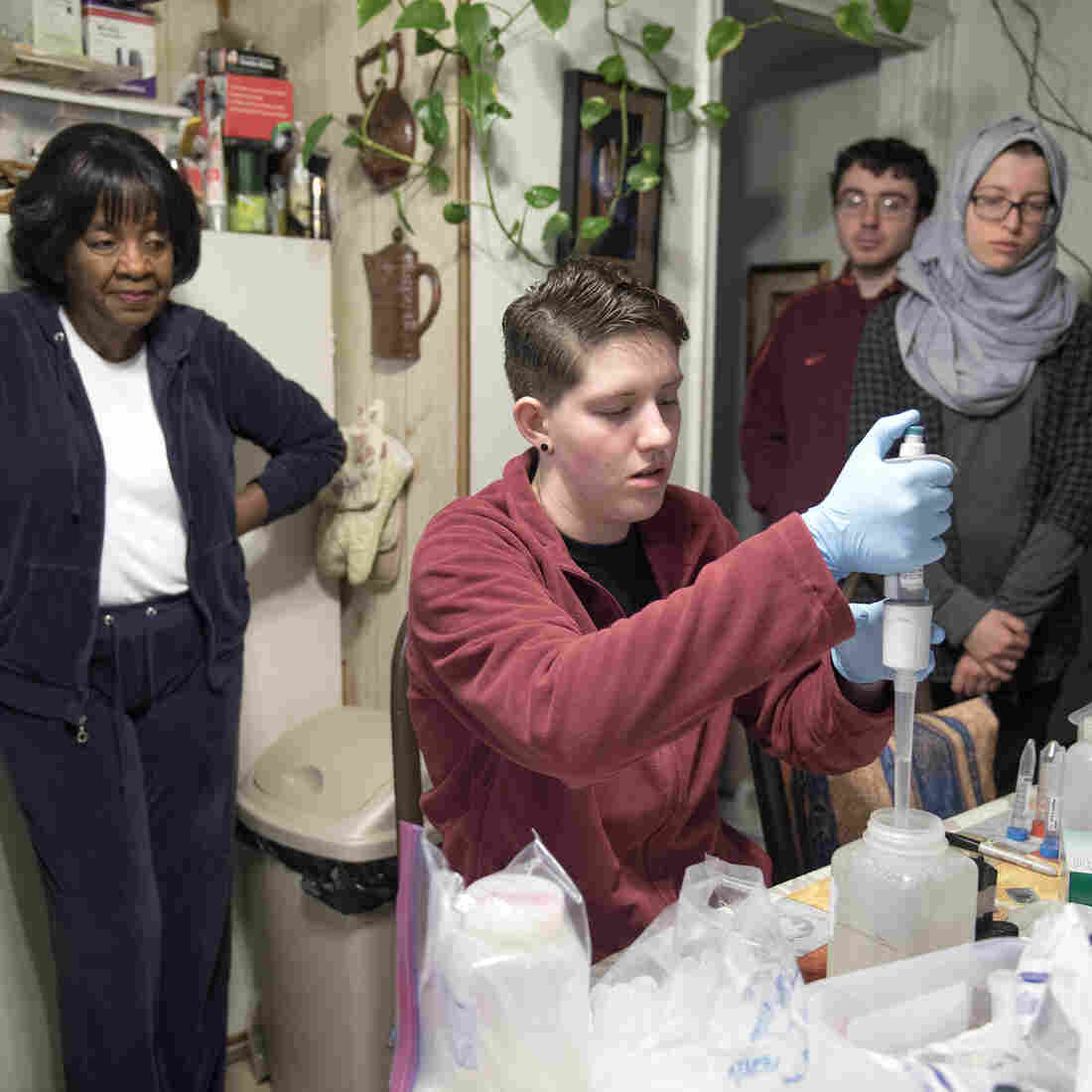 Flint Residents Tired Of Talk And Tests, Eager For Solution