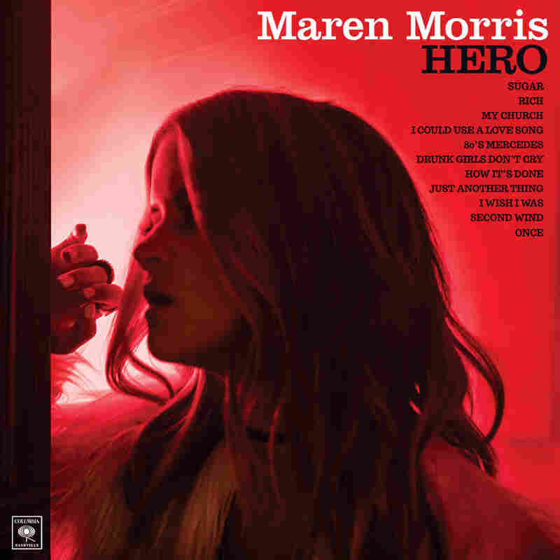 The cover of Maren Morris' debut album, Hero.