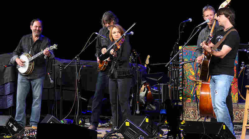 The SteelDrivers perform live for Mountain Stage.