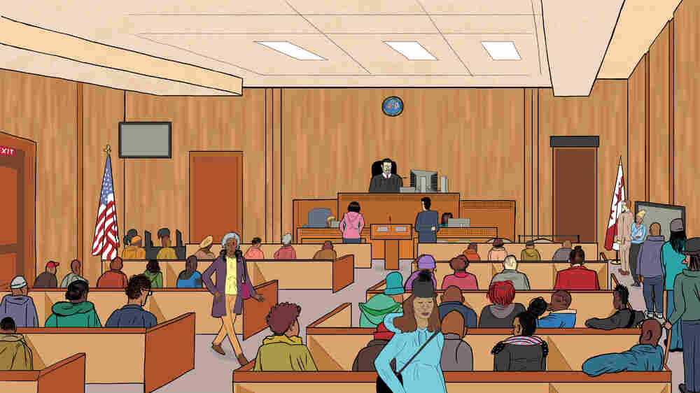 Welcome To Rent Court, Where Tenants Can Face A Tenuous Fate