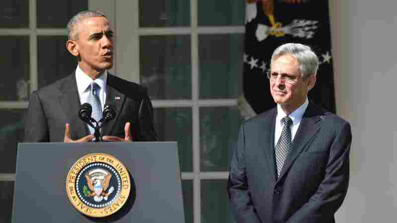 Merrick Garland Is Named As President Obama's Supreme Court Nominee