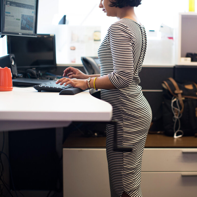 When It Comes To Desks Sitting Is Bad But Standing May Not Be