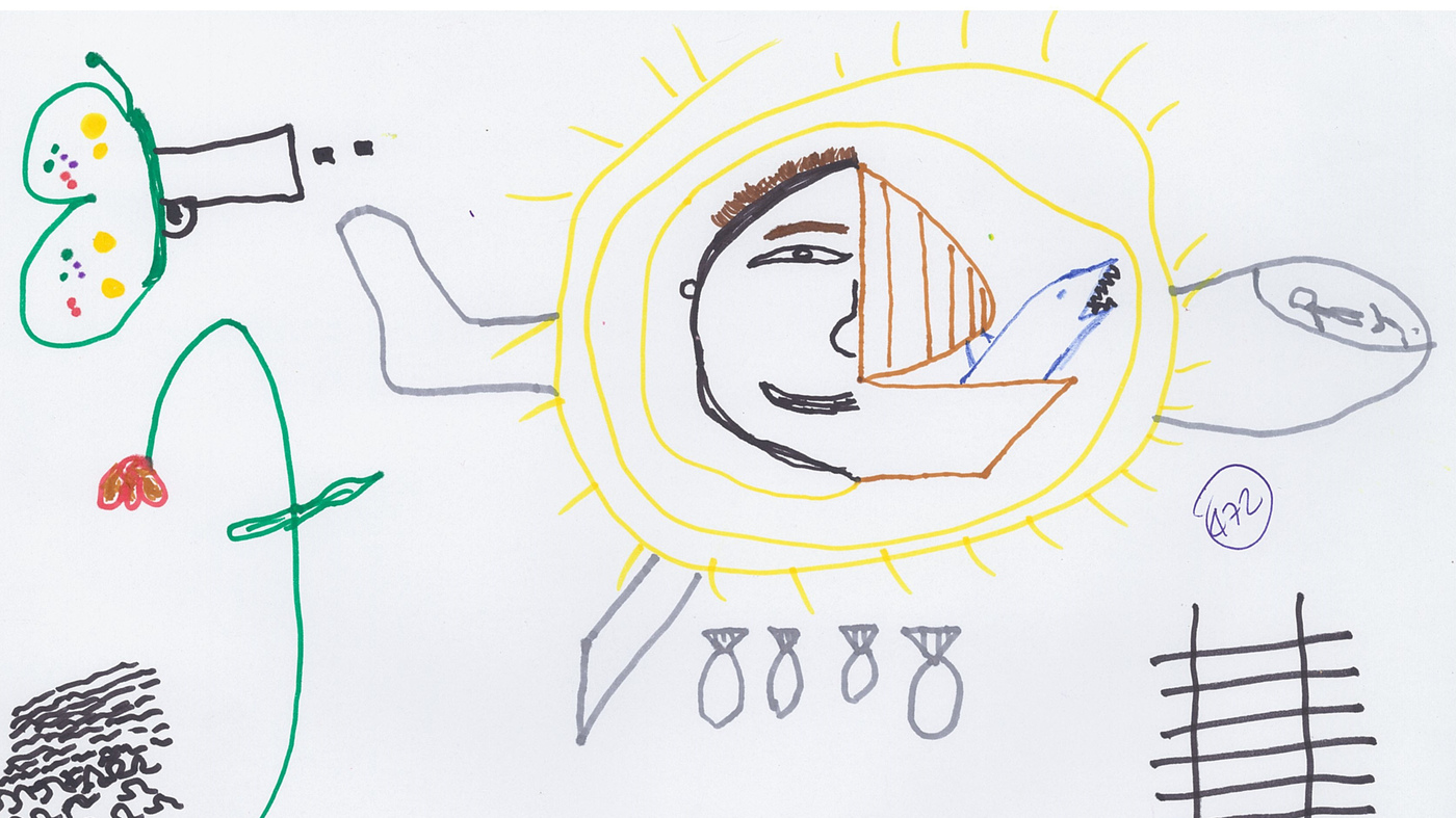 Syrian refugee children reveal their emotions in drawings they made syrian refugee children reveal their emotions in drawings they made at a train station in italy goats and soda npr izmirmasajfo