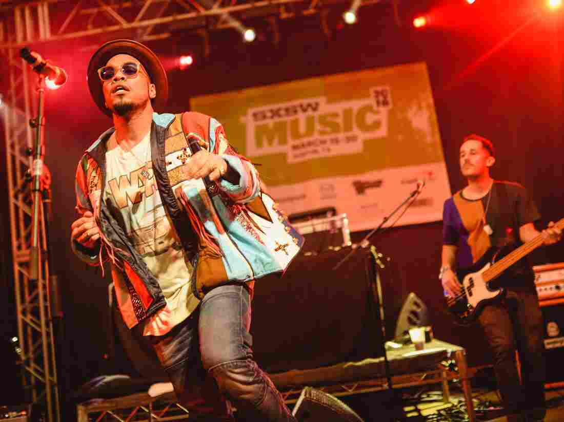 Anderson .Paak blended modern hip-hop and classic soul timelessly at NPR Music's SXSW showcase.