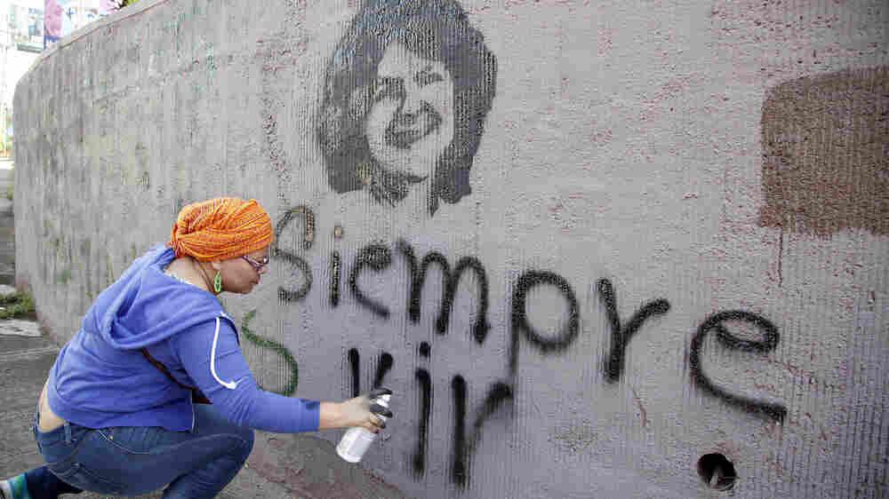 Family Of Slain Indigenous Rights Activist Wants U.S. To Stop Funding Honduras