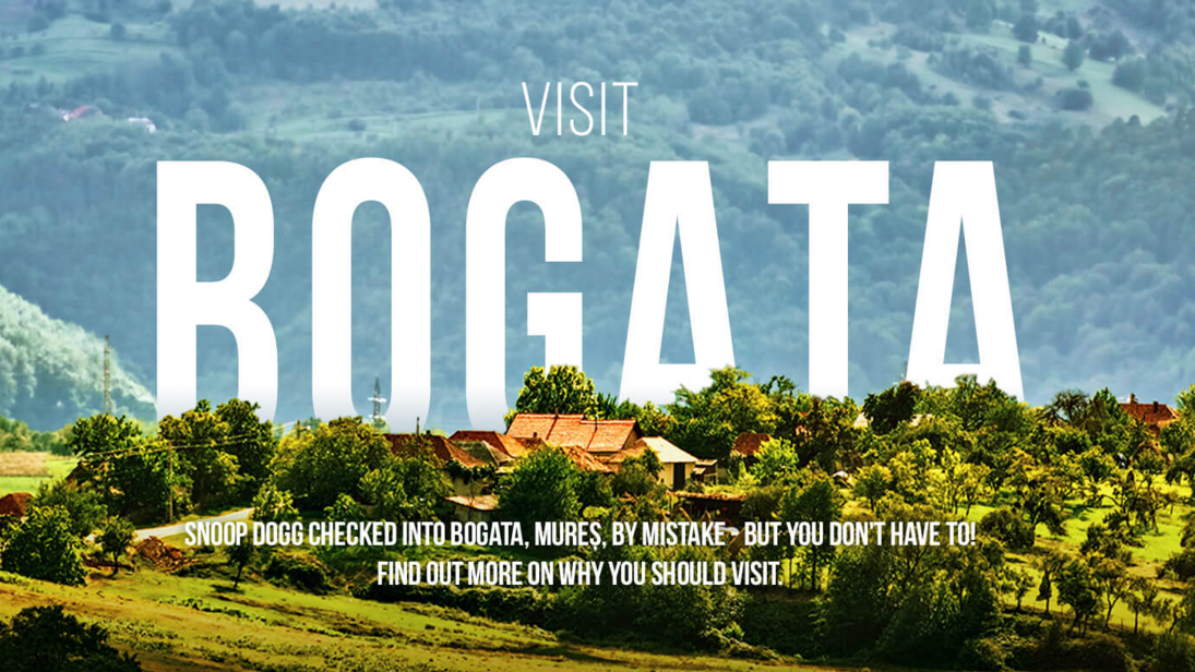 A tourism site for Bogata, Romania, was created not long after Snoop Dogg accidentally tagged the village on Instagram.