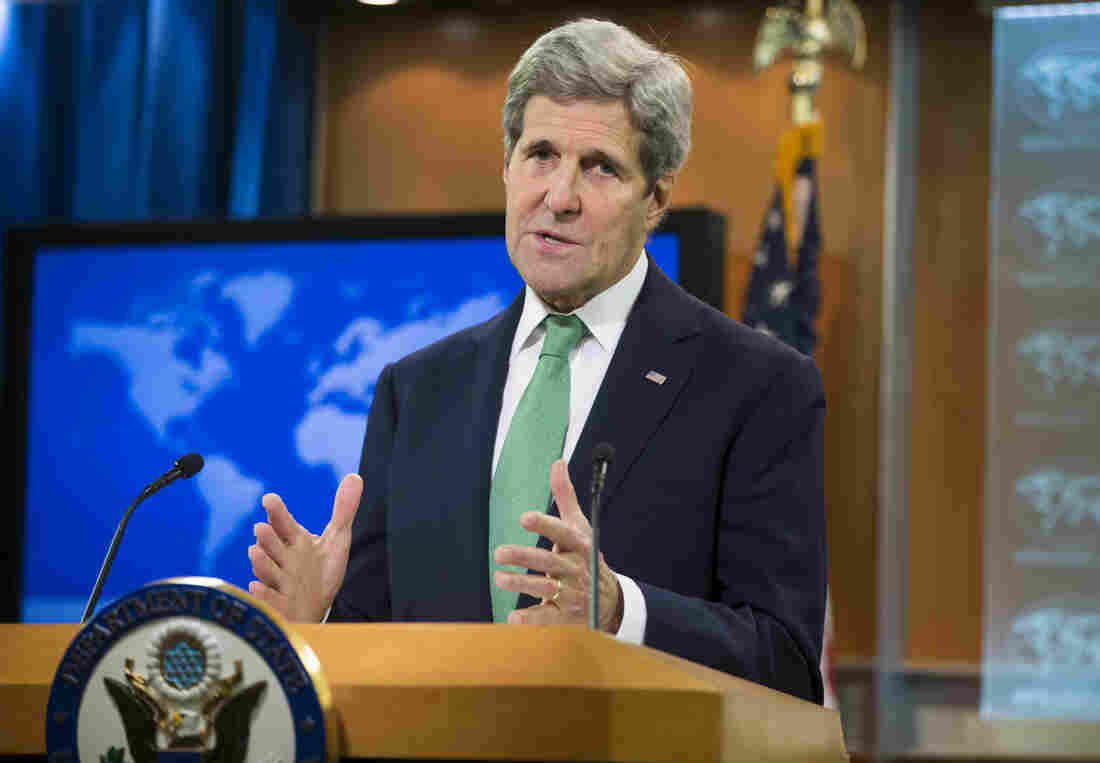 Secretary of State John Kerry on Thursday announces that the U.S. has determined that the Islamic State is committing genocide against Christians and other groups in Iraq and Syria.