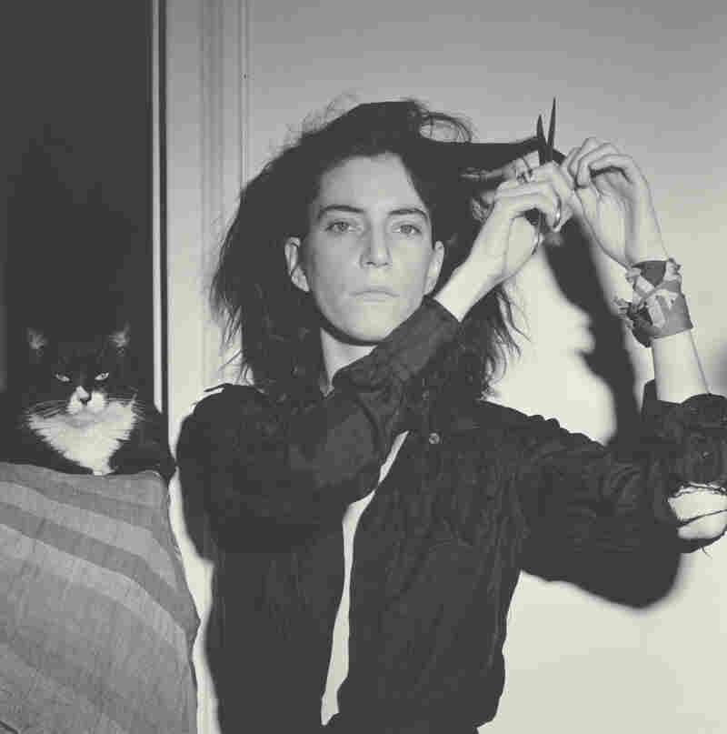 Patti Smith met Robert Mapplethorpe just after she moved to New York in the late 1960s. He made this portrait of her in 1978. Click here to listen to Smith talk about their 22-year friendship and creative partnership.