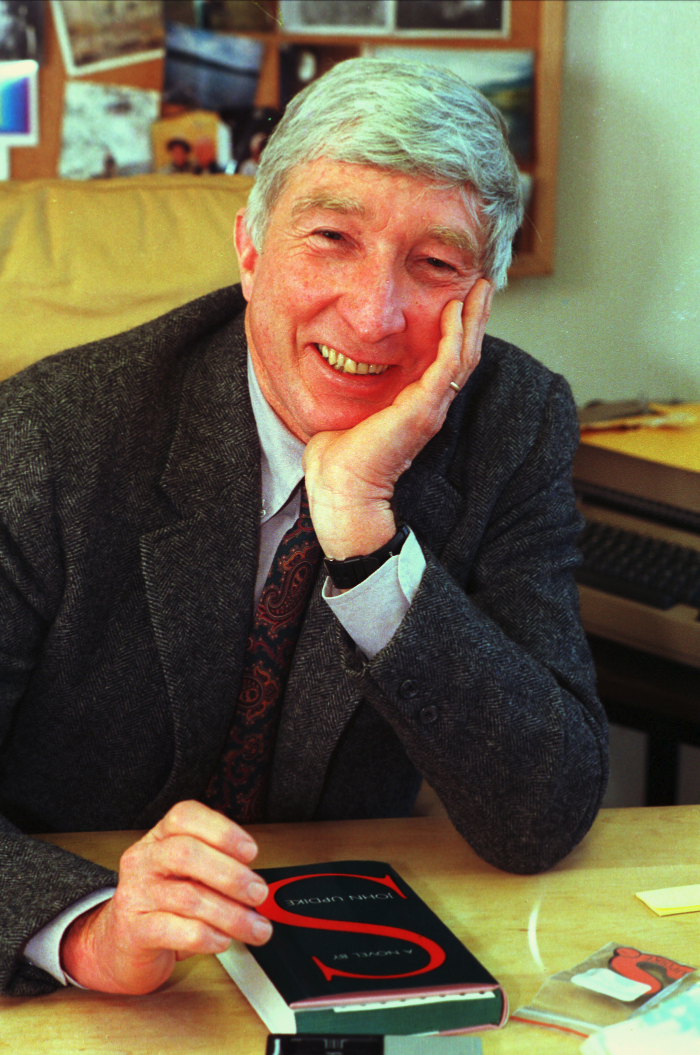 Upon learning of his cancer diagnosis author john updike wrote a poem