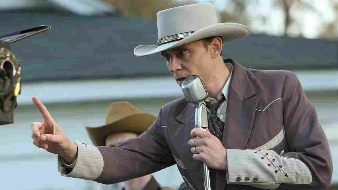 Tom Hiddleston as Hank Williams in I Saw the Light.