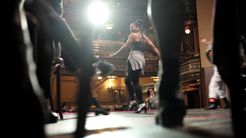 Audra McDonald in rehearsal for the upcoming musical Shuffle Along, Or, The Making of the Musical Sensation of 1921 and All That Followed. (Rinaldi PR)