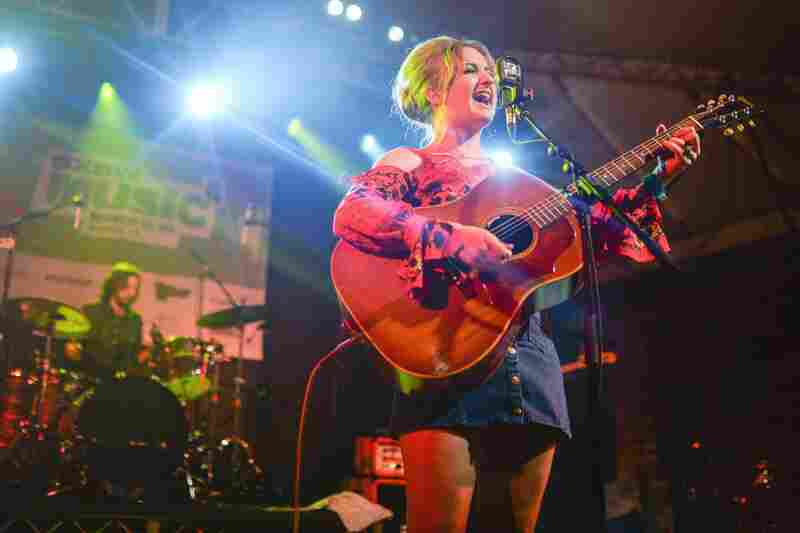 The rising country artist Margo Price gave our showcase a whisky-soaked kick in the pants.