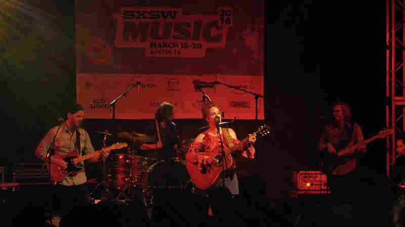 "Margo Price performs ""This Town Gets Around"" at NPR Music's SXSW 2016 showcase."
