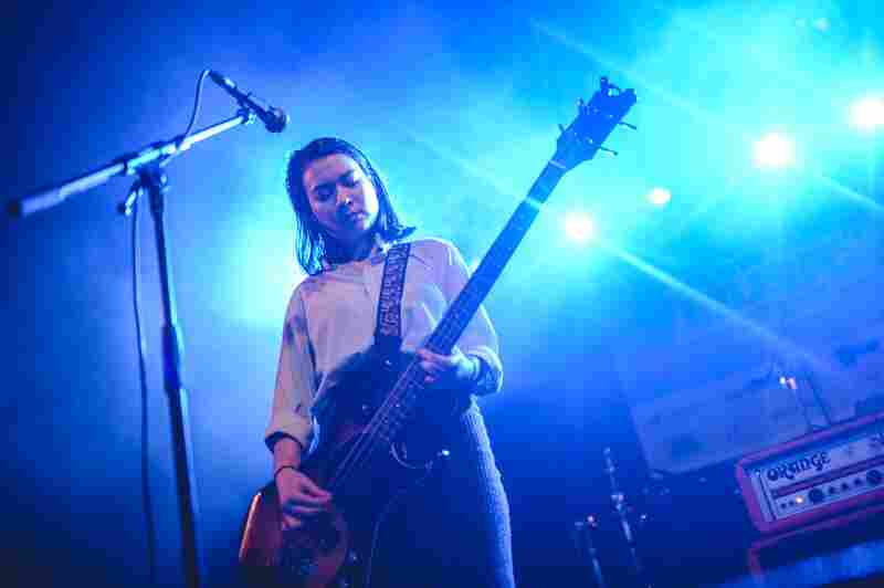 At our SXSW showcase, Mitski's songs rang out in feedback-riddled heartbreak and quiet desperation.