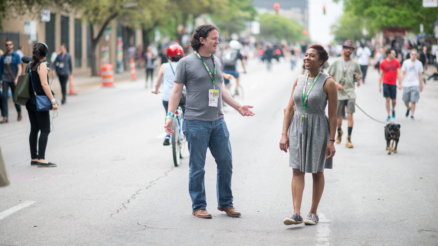 SXSW At With A View From Street Level NPR - Audie cornish