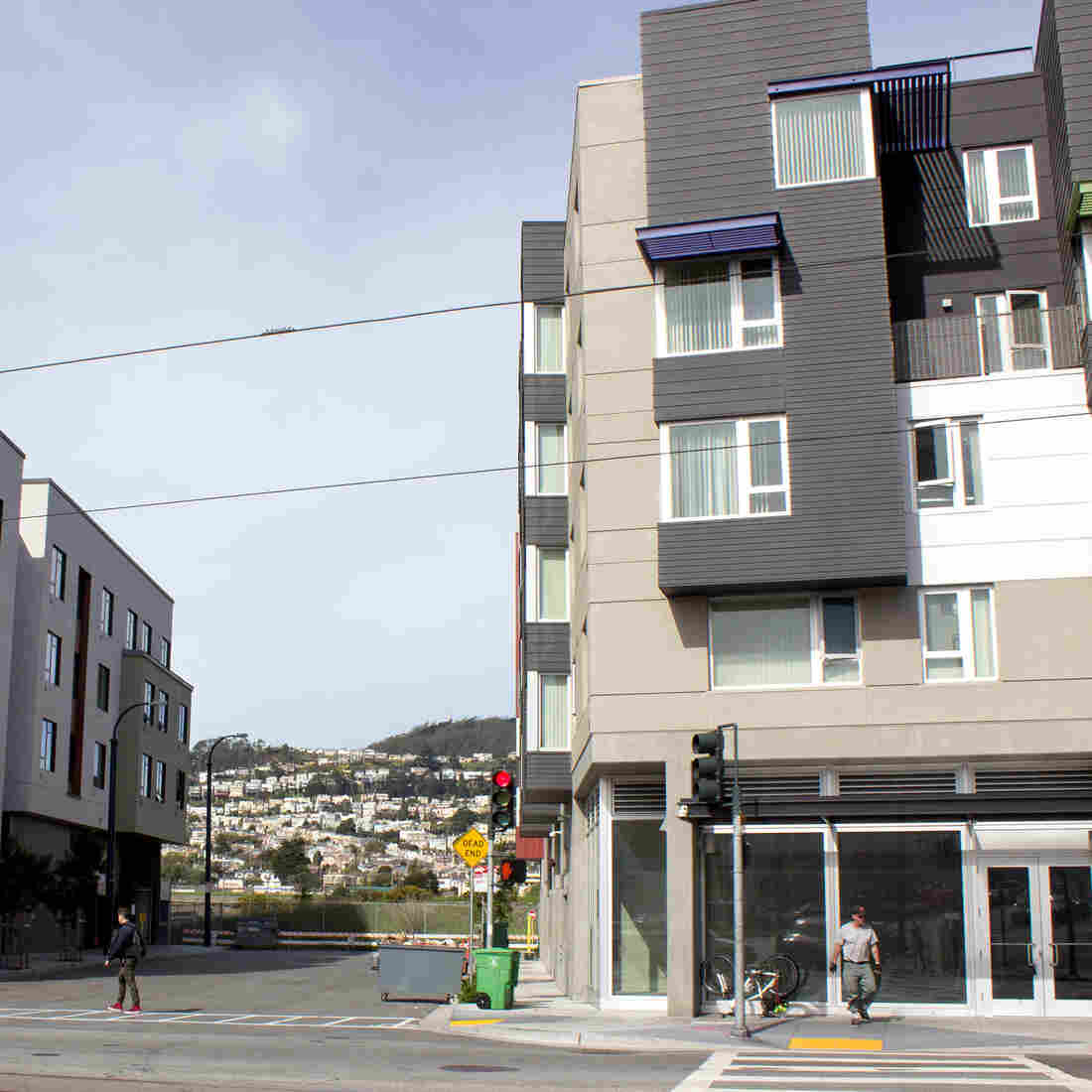 Mercy, a San Francisco-based nonprofit, provides subsidized affordable housing for low-income residents, including 25 apartments reserved for 18- to 24-year-olds.