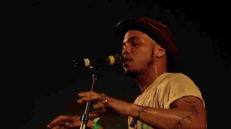 "Anderson .Paak & The Free Nationals performed ""Room In Here"" at NPR Music's SXSW 2016 showcase."