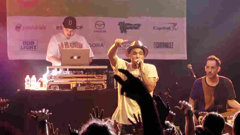 "Anderson .Paak & The Free Nationals performed ""The Bird"" at NPR Music's SXSW 2016 showcase."