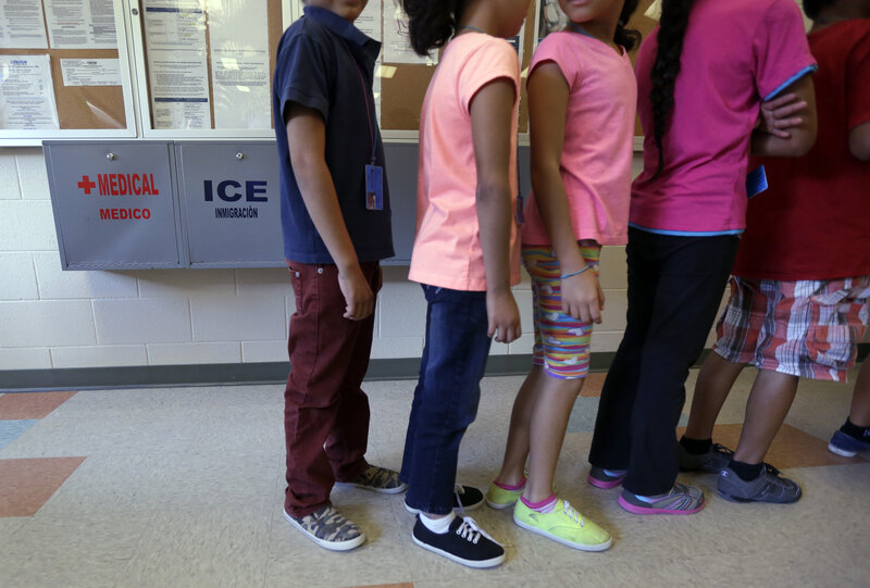 Last week, Immigration and Customs Enforcement Director Sarah Saldaña discussed the federal government's plan to end the detention of women and children at the Karnes facility in Karnes City, Texas.