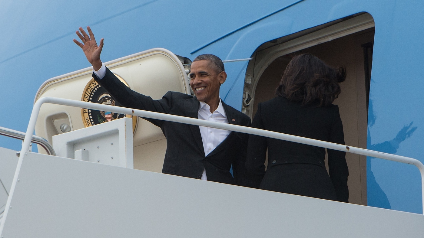 President Obama Touches Down In Cuba, Commencing A Historic Visit