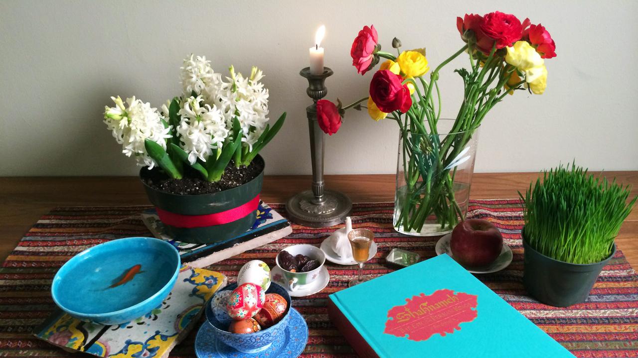 Nowruz persian new years table celebrates spring deliciously the nowruz persian new years table celebrates spring deliciously the salt npr izmirmasajfo