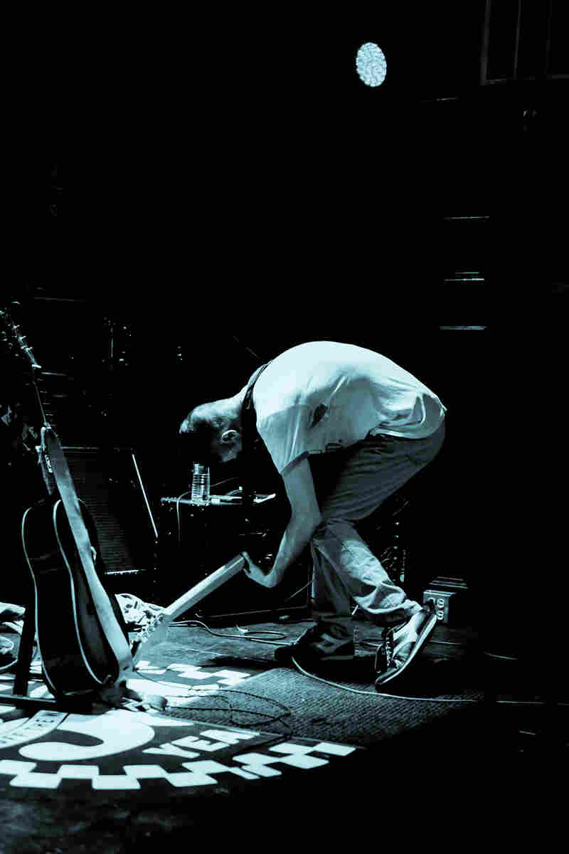 Producer John Congleton played a twisted and inventive set on Friday.