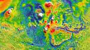 LOOK: Map Of Mars' Gravity Illuminates Planet's Interior