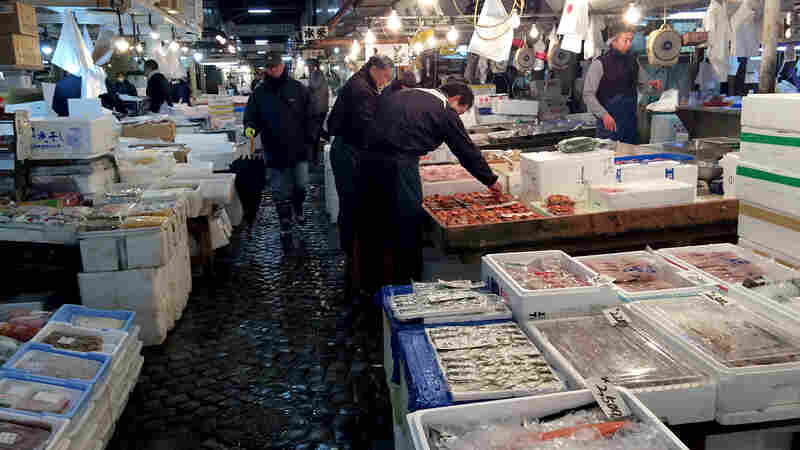 The 80-year-old Tsukiji Fish Market currently sits on some of the most valuable land in Tokyo, with easy access to wholesalers, retailers and tourists.
