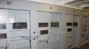 The cell block where Bernard Simmons and David Sesson shared a cell at Menard Correctional Center in southern Illinois. This image was provided by the Randolph County State's Attorney Office after a Freedom of Information Act request.
