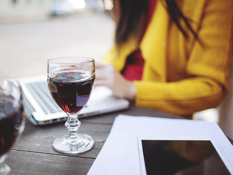 People who drink in moderation tend to be better educated and more well off, which increases their odds of being healthy. (Photographer: Katsiaryna Pakhoma/iStockphoto)