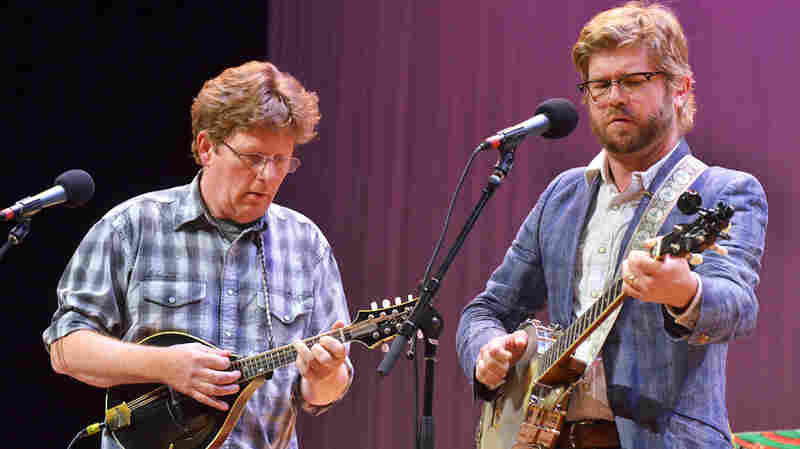 Tim O'Brien And Old Man Luedecke On Mountain Stage