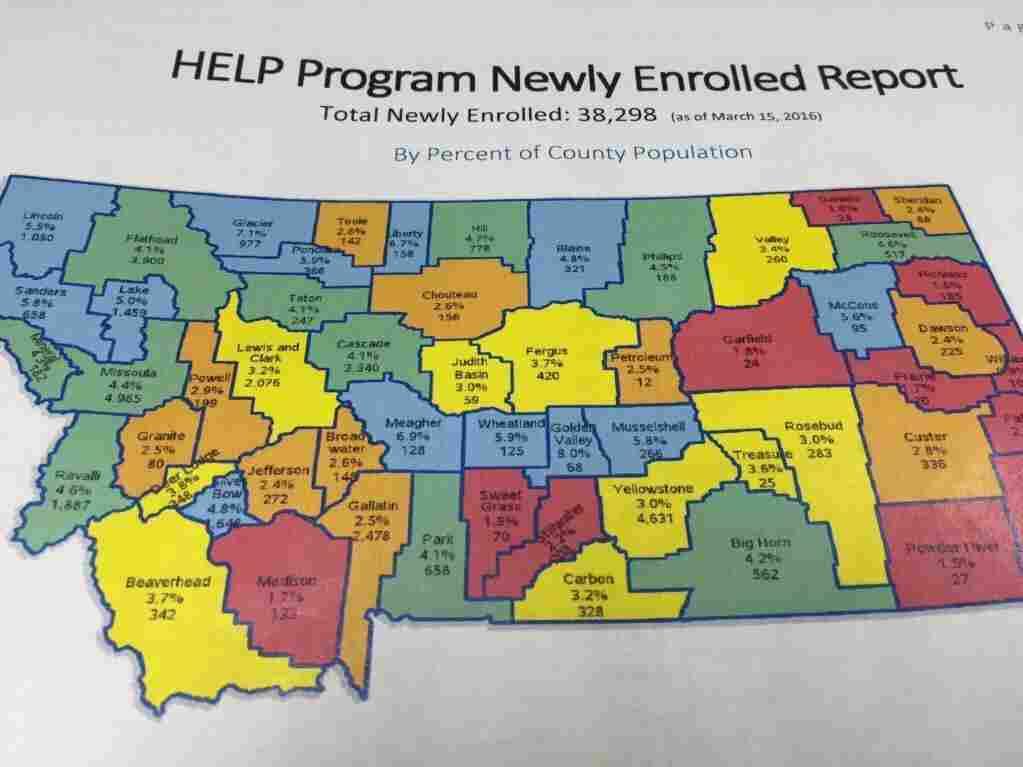 HELP Program Newly Enrolled Report.