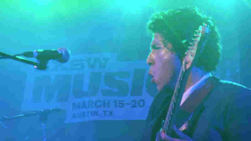 "Chicano Batman performs ""La Manzanita"" at NPR Music's SXSW 2016 showcase."