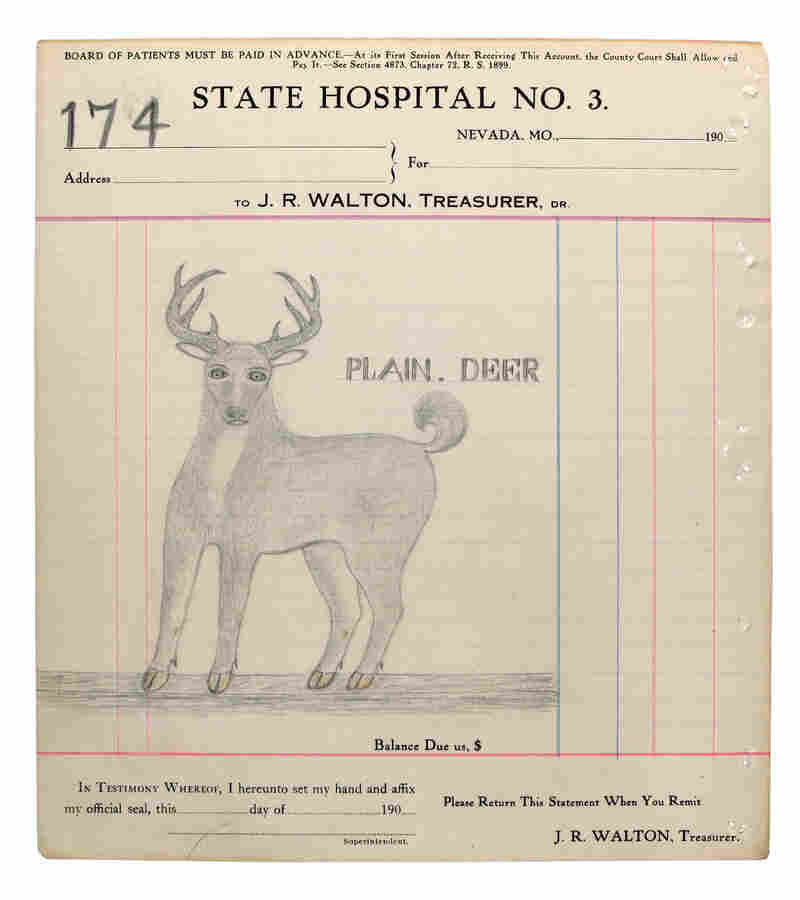 Plain. Deer (No. 174) by James Edward Deeds Jr.