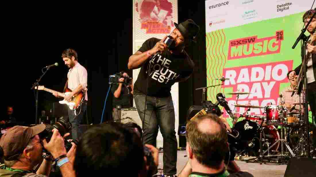 The Heavy performs at SXSW 2016 on the Radio Day Stage.