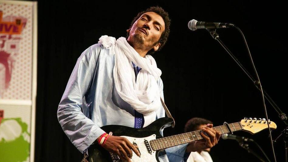 Bombino performs at SXSW 2016 on the Radio Day Stage (WXPN)